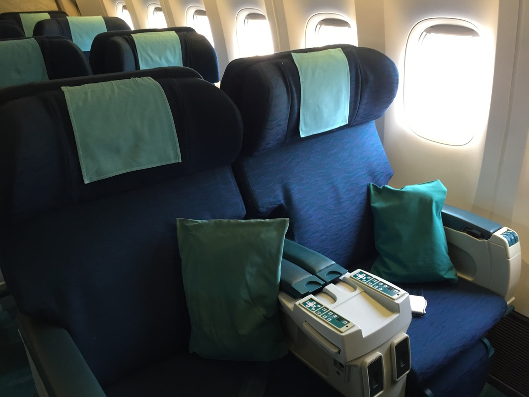 Review: Cathay Pacific Business Class ICN - HKG - LiveTraveled